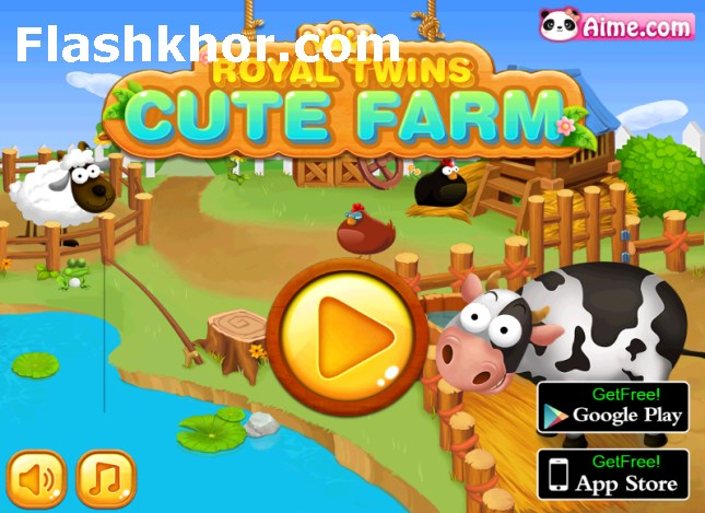 بازی مدیریت مزرعه اندروید دوقلوها بازی آنلاین کامپیوتر دخترانه