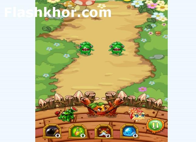 بازی دفاع از قلعه اندروید میوه ها بازی آنلاین کامپیوتر استراتژیک