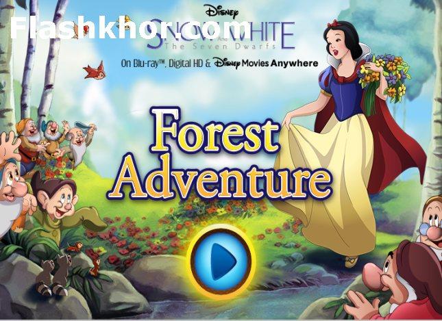 بازی سفید برفی و هفت کوتوله در جنگل اندروید بازی آنلاین کامپیوتر
