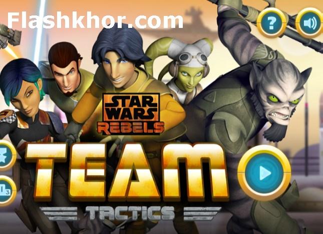 بازی جنگ ستارگان 3 اندروید بازی آنلاین کامپیوتر تاکتیک