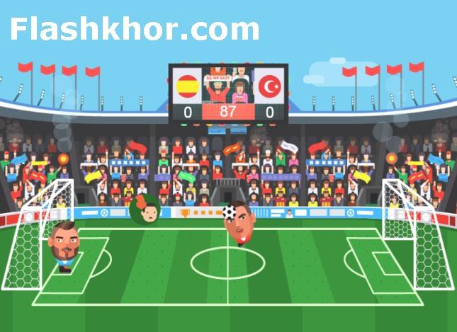 بازی فوتبال بین کله ها لیگ اروپا 2016 اندروید بازی آنلاین کامپیوتر