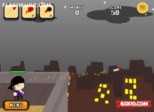 بازی آنلاین جنگ آتش بازی - تیر اندازی فلش