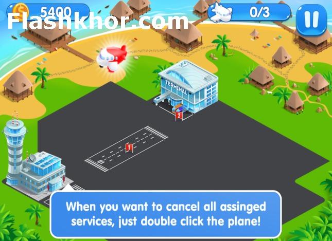 بازی مدیریت فرودگاه اندروید بدون دیتا