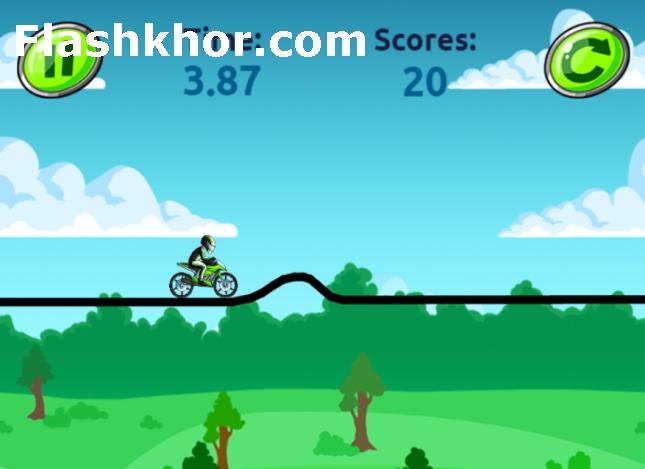 بازی موتور کراس اندروید کم حجم بازی آنلاین کامپیوتر در جنگل