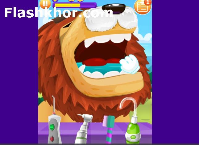 بازی دندانپزشکی کودکان اندروید بازی آنلاین کامپیوتر دخترانه