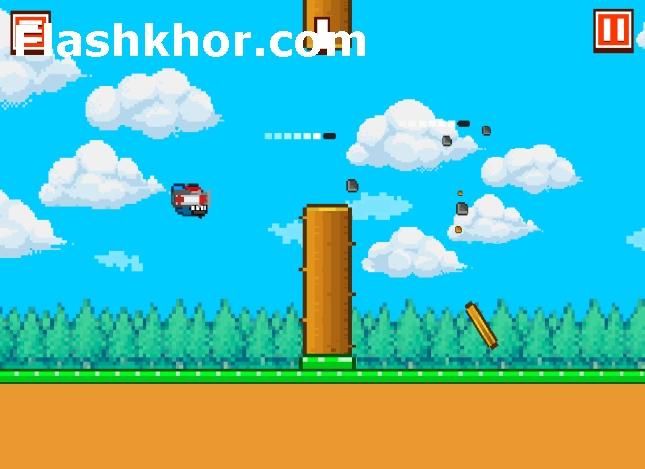 بازی فلاپی برد عصبانی برای اندروید بازی آنلاین کامپیوتر