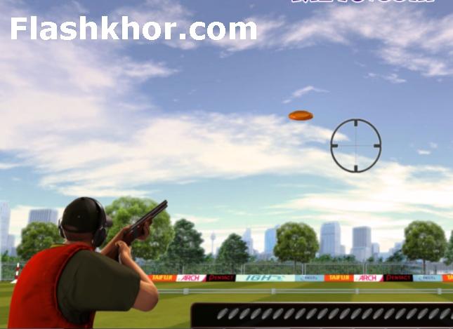 بازی تیراندازی به اهداف پروازی آنلاین