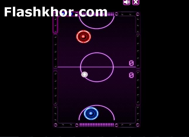 بازی هاکی روی میز برای اندروید آنلاین کامپیوتر