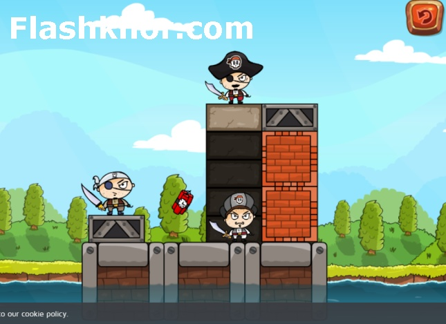 بازی دینامیت اندروید بازی آنلاین کامپیوتر غنیمت دزدان دریایی