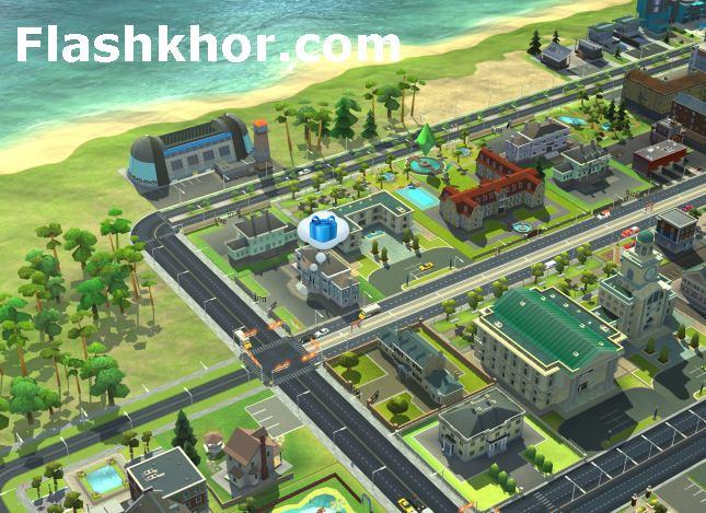 بازی سیم سیتی برای اندروید مود شده هک شد 2 4 بازی آنلاین کامپیوتر