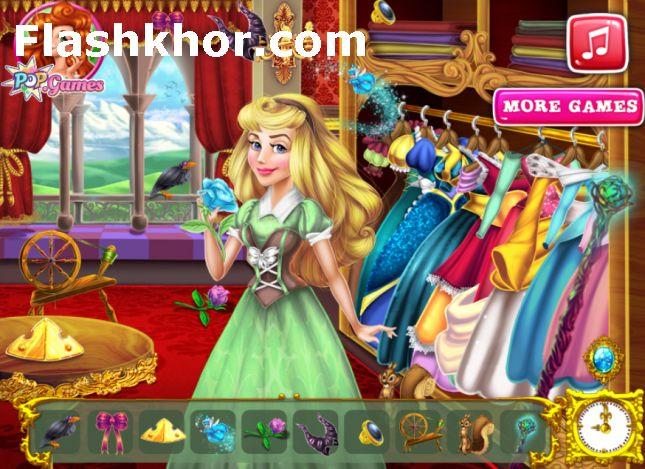 بازی زیبای خفته جدید در قصر اندروید آنلاین کامپیوتر