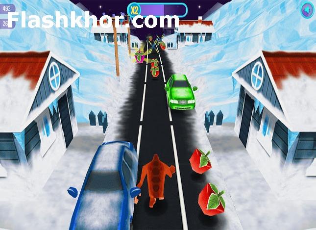 بازی رانر برای اندروید runner بازی آنلاین کامپیوتر دونده برفی