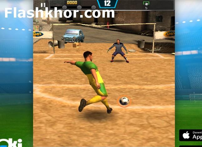 بازی فوتبال خیابانی برای اندروید بدون دیتا آنلاین