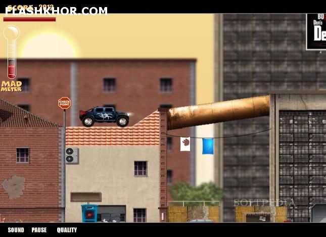 بازی آنلاین خشم کامیون سواری - ورزشی فلش