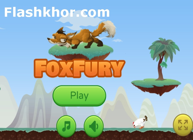بازی روباه وحشی بازی روباه و جوجه ها و سریع بازی آنلاین اندروید