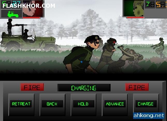 بازی آنلاین جنگ پاییز - استراتژی جنگی فلش