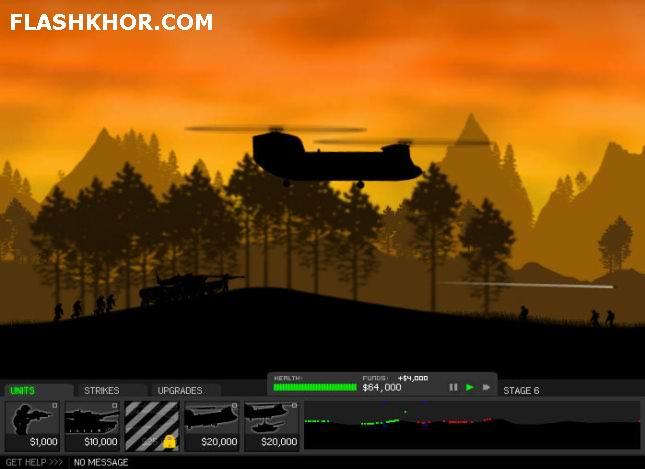 بازی آنلاین شیدز - استراتژی جنگی فلش