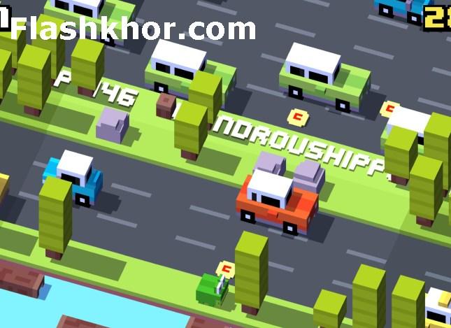 بازی عبور از خیابان آنلاین مرغ اندروید pc