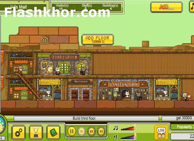 بازی مدیریت فروشگاه اندروید بازی مغازه داری امپراطور فروشگاه داری