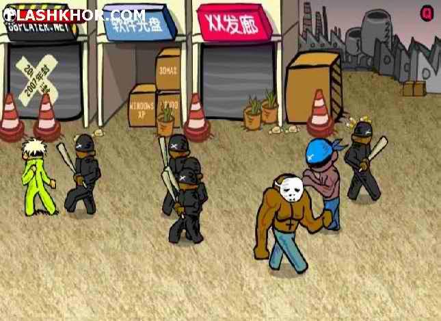 بازی آنلاین فلشر دیوانه 2 - اکشن جنگی فلش