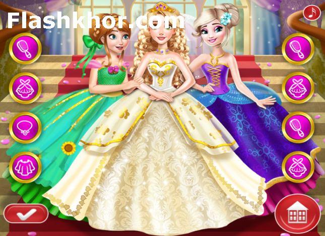 بازی باربی و السا جدید انلاین دخترانه