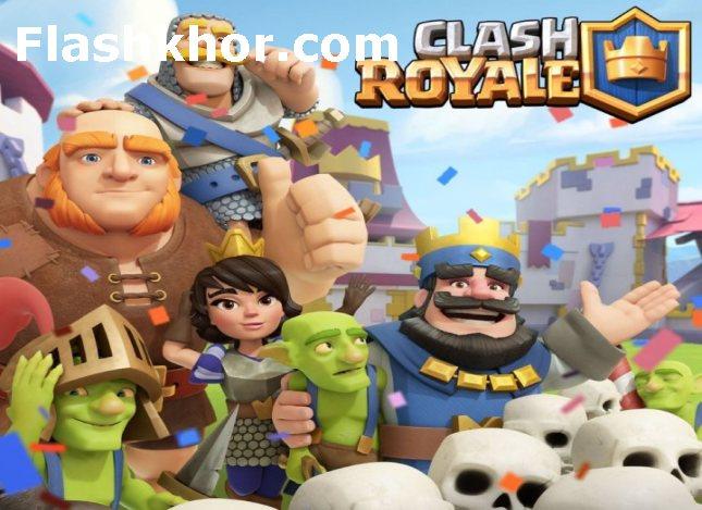 بازی کلش رویال برای کامپیوتر آنلاین clash royale