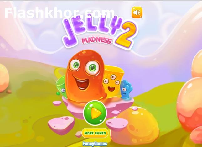 بازی ژله ای برای اندروید آنلاین jelly