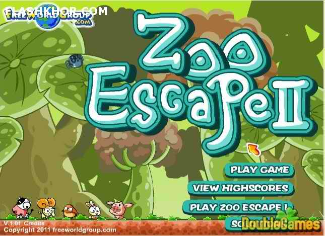 بازی آنلاین فرار از باغ وحش - فکری فیزیک فلش