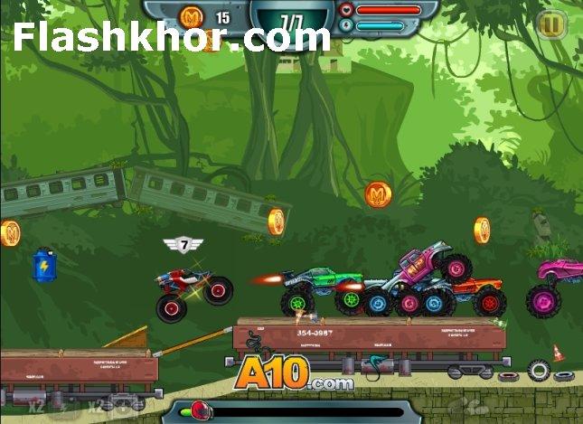 بازی ماشین برای کامپیوتر کم حجم آنلاین