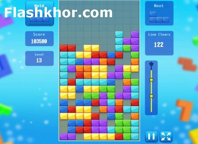 بازی خانه سازی برای کامپیوتر تتریس  tetris