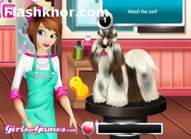 بازی انلاین شستن گربه و سگ اندروید کامپیوتر