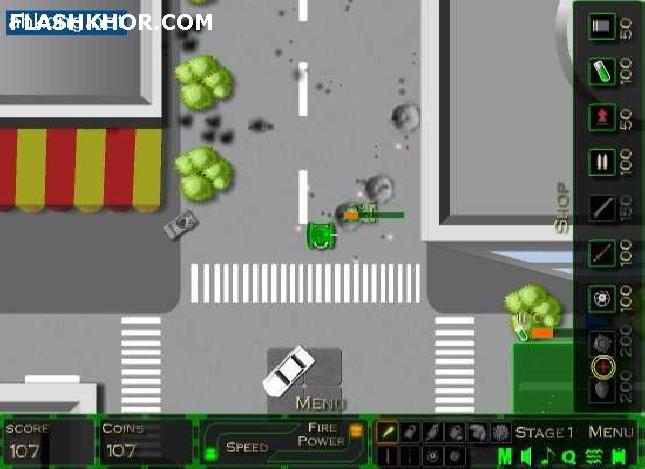 بازی آنلاین حمله نهایی تانک 2008 - اکشن فلش