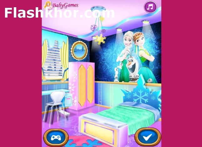 بازی دکوراسیون منزل باربی آنلاین مهمانی