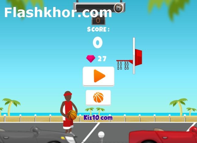 بازی بسکتبال خیابانی برای کامپیوتر اندروید آنلاین