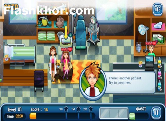 بازی آنلاین مدیریت بیمارستان داری قلب