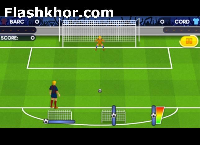 بازی پنالتی برای کامپیوتر فوتبال اروپا