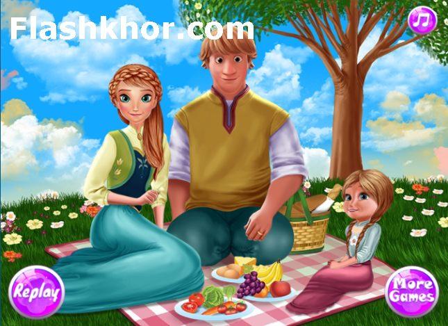 بازی پیک نیک انلاین دخترانه باربی رفتن