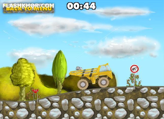 بازی آنلاین Rock Transporter فلش