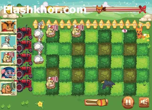 بازی دفاع از باغچه 2 باغ آنلاین اندروید