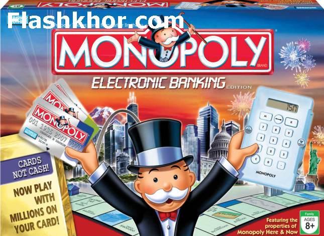 بازی مونوپولی برای کامپیوتر pc آنلاین