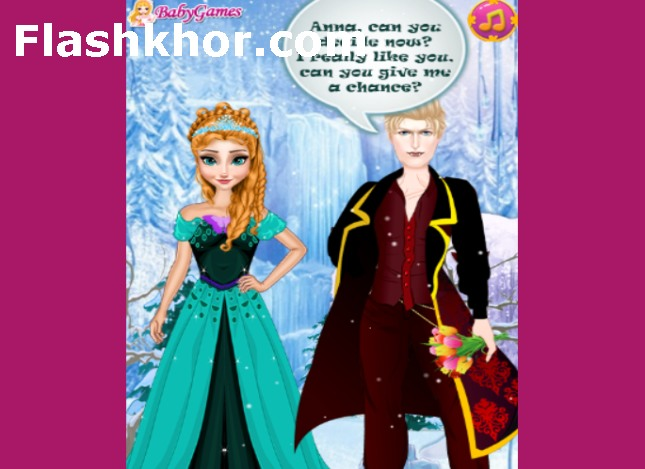 بازی عروسی انا و جادوگر آنلاین