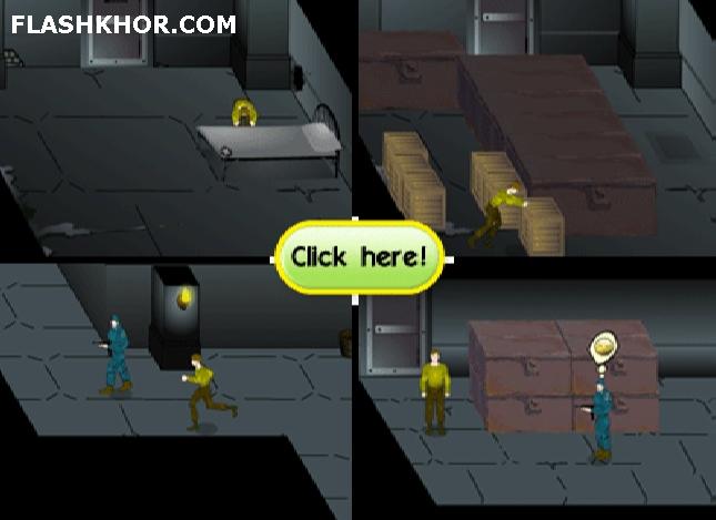 بازی آنلاین فرار از زندان - فکری فلش
