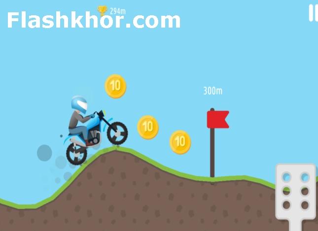 بازی تپه نوردی با موتور Hill Climb Motor Bike Racing