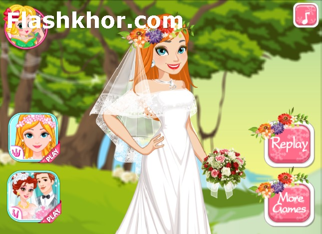 بازی باربی عروس جدید آنلاین دخترانه