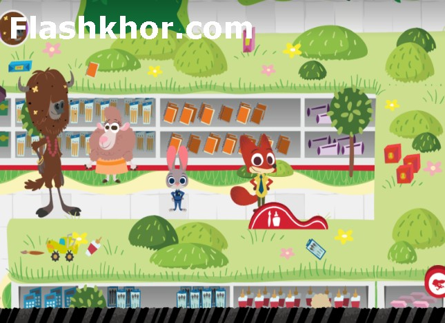 بازی zootopia زوتوپیا کاوش آنلاین