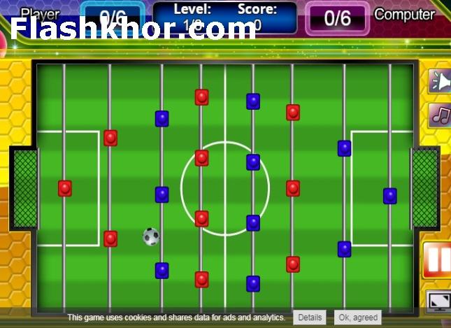 بازی فوتبال دستی حرفه ای آنلاین اندروید
