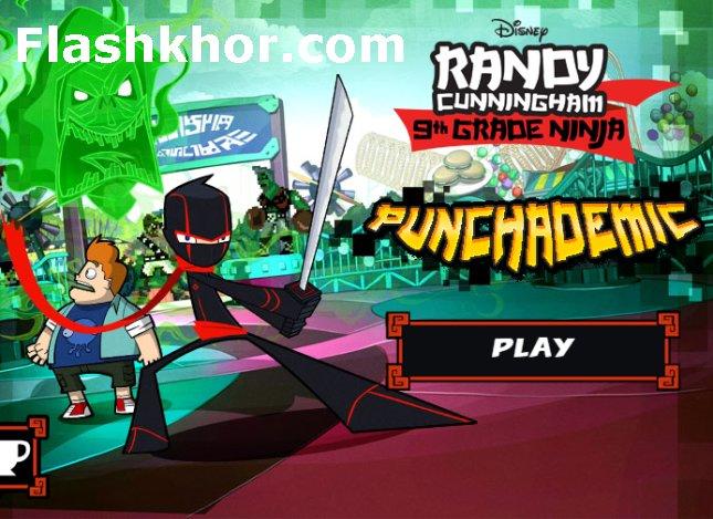 بازی نینجا برای کامپیوتر pc مشت و شمشیر