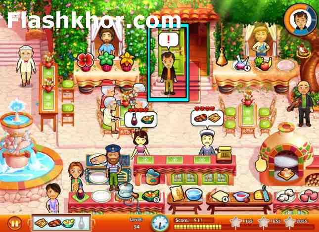 بازی رستوران داری برای کامپیوتر بطری امیلی