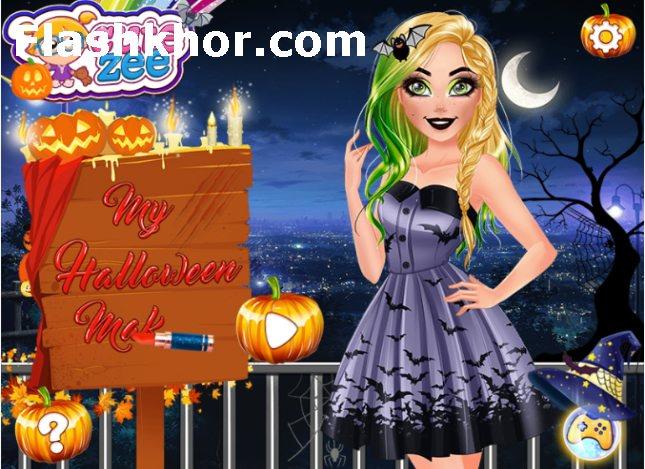 بازی هالووین باربی شب لباس انلاین