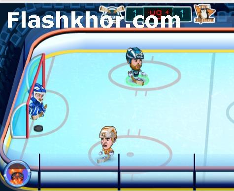 بازی هاکی روی یخ برای کامپیوتر آنلاین قهرمانی
